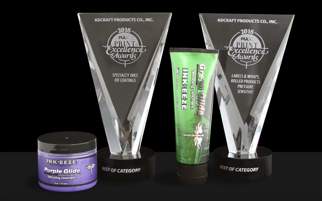 Adcraft Labels Wins 14 PIASC Print Excellence Awards