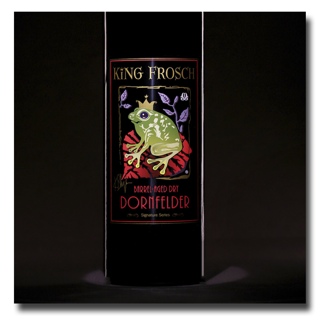 This King Frosh wine label made Adcraft Labels a 2017 digitalprinter award Finalist!