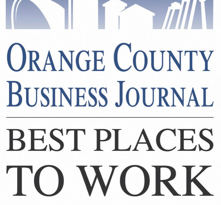 "Adcraft Labels Wins ""Best Places to Work in Orange County 2019"""